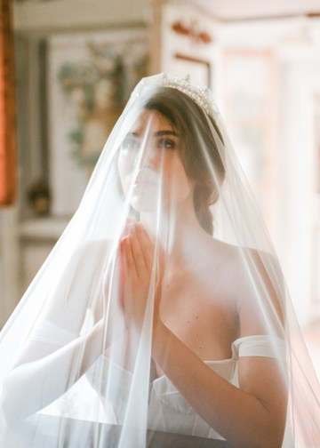 Breathtaking Tuscan Fine Art Wedding Inspiration – Olga Makarova 13