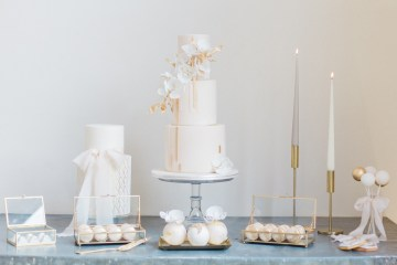 Glamorous Art Deco Wedding Inspiration with Gold Details – Maxeen Kim Photography 1