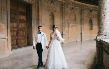 Incredibly Romantic Spanish Wedding In Andalusia