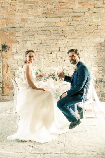 Pretty Pink Almonry Barn Wedding Inspiration – Liz Baker Photography 13