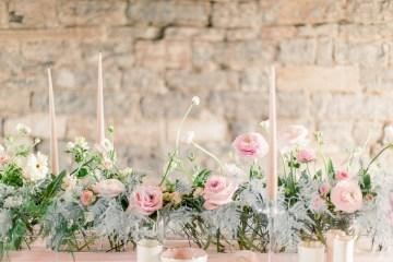 Pretty Pink Almonry Barn Wedding Inspiration – Liz Baker Photography 16