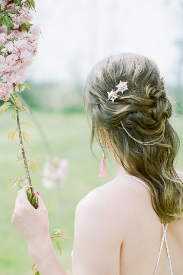 Pretty Pink Almonry Barn Wedding Inspiration – Liz Baker Photography 18
