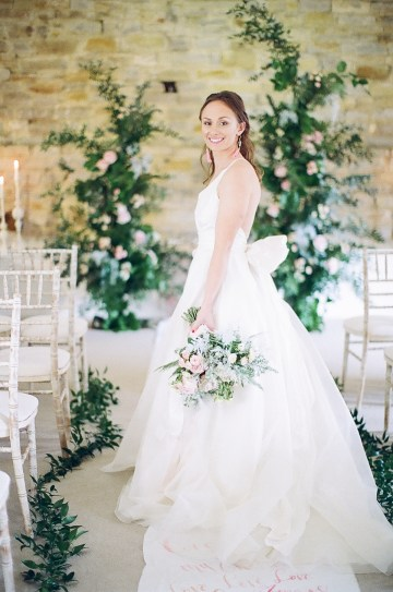 Pretty Pink Almonry Barn Wedding Inspiration – Liz Baker Photography 24