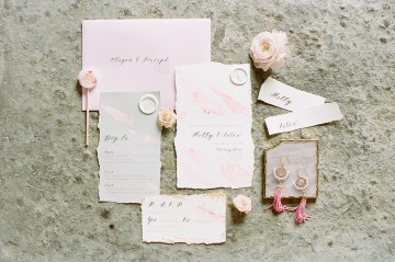 Pretty Pink Almonry Barn Wedding Inspiration – Liz Baker Photography 35