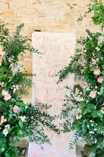 Pretty Pink Almonry Barn Wedding Inspiration – Liz Baker Photography 4
