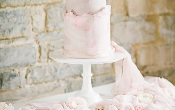 Pretty Pink Almonry Barn Wedding Inspiration – Liz Baker Photography 42