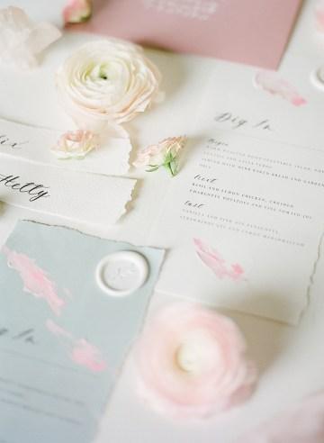 Pretty Pink Almonry Barn Wedding Inspiration – Liz Baker Photography 44