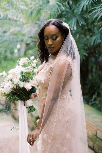 Pretty Texas Garden Wedding With A Blush Pink Wedding Dress – Deven Ashley 16