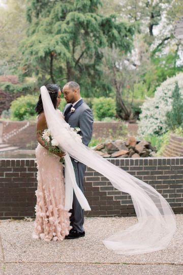 Pretty Texas Garden Wedding With A Blush Pink Wedding Dress – Deven Ashley 27