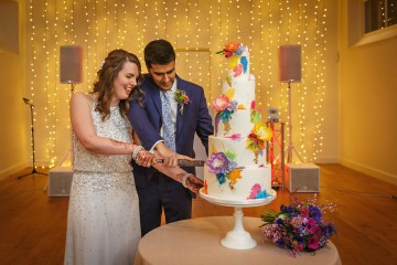Regal and Colorful Indian Wedding with Watercolor Details – Chris Taylor 17