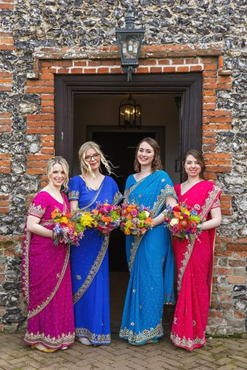 Regal and Colorful Indian Wedding with Watercolor Details – Chris Taylor 21