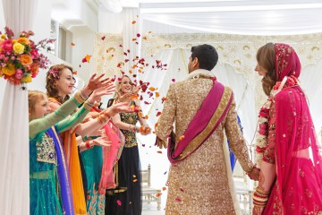 Regal and Colorful Indian Wedding with Watercolor Details – Chris Taylor 5