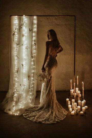 Candlelit Wedding Inspiration With Pretty Fairy Lights – Lauren Pretorius Photography 13