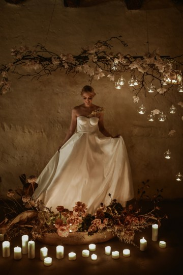 Candlelit Wedding Inspiration With Pretty Fairy Lights – Lauren Pretorius Photography 28