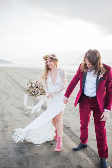 Christina Castello and Drew Pull Seaview Wedding Claire Eliza