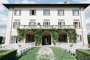 Classic Florence Italy Destination Wedding – Villa La Vedetta – Photo Santucci 1