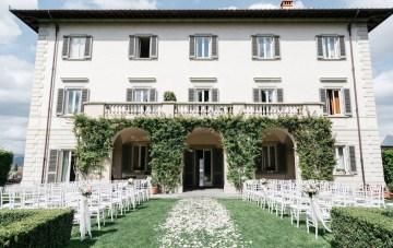 Classic Florence Italy Destination Wedding – Villa La Vedetta – Photo Santucci 1