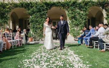 Classic Destination Wedding At Florence's Scenic Villa La Vedetta