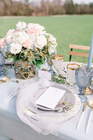 Dusty Blue Meadow Wedding Inspiration – Gracious Company 52