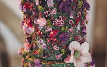 Opulent Barn Holiday Wedding Inspiration – Kerry Ann Duffy Photography 14