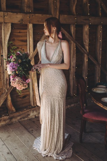 Opulent Barn Holiday Wedding Inspiration – Kerry Ann Duffy Photography 24