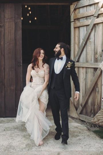 Opulent Barn Holiday Wedding Inspiration – Kerry Ann Duffy Photography 30