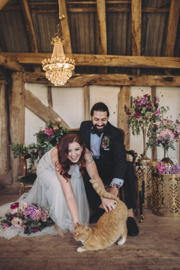 Opulent Barn Holiday Wedding Inspiration – Kerry Ann Duffy Photography 32
