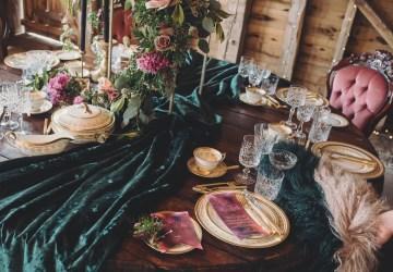 Opulent Barn Holiday Wedding Inspiration – Kerry Ann Duffy Photography 4