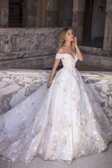 Showstopping Dazzling WONA Bridal Wedding Dresses – Aurora – Cristine