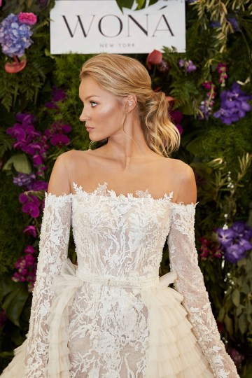 Showstopping Dazzling WONA Bridal Wedding Dresses – NYC Showroom 10