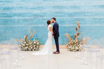 Blue Ombre and Lucite 2020 Wedding Ideas – Penelope Lamore 2