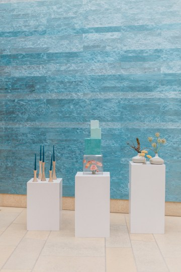 Blue Ombre and Lucite 2020 Wedding Ideas – Penelope Lamore 33