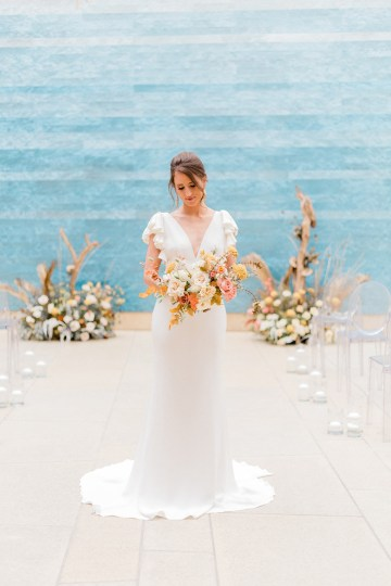 Blue Ombre and Lucite 2020 Wedding Ideas – Penelope Lamore 6