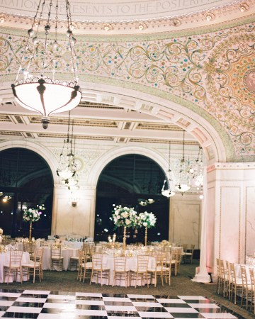 Gorgeous Green and Pink Chicago Ballroom Wedding – Clary Pfeiffer Photography – LOLA Event Productions 33