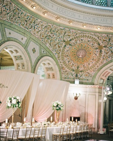 Gorgeous Green and Pink Chicago Ballroom Wedding – Clary Pfeiffer Photography – LOLA Event Productions 37