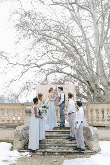 Gorgeous Winter Blue Wedding Inspiration – Irene Fucci 13
