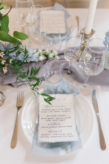 Gorgeous Winter Blue Wedding Inspiration – Irene Fucci 23