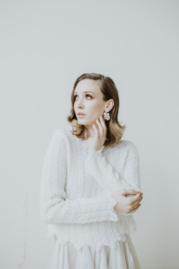 White and Taupe Minimalistic Wedding Inspiration – Vanessa Illi 49