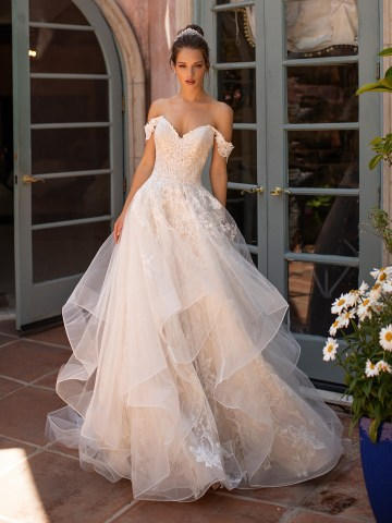 10 Gorgeous Ball Gown Wedding Dresses – Moonlight Bridal –