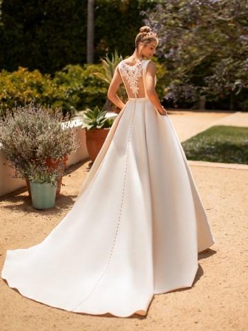 10 Gorgeous Ball Gown Wedding Dresses – Moonlight Bridal – J6772-B