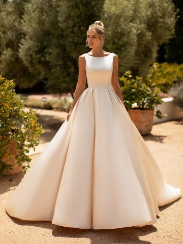 10 Gorgeous Ball Gown Wedding Dresses – Moonlight Bridal – J6772-F