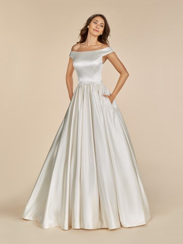 10 Gorgeous Ball Gown Wedding Dresses – Moonlight Bridal – T886_A