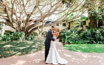 Classic Brides Must See This Gorgeous Santa Barbara Wedding