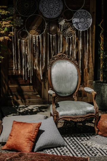 Dreamcatcher Bohemian Wedding Inspiration – Gissell Weddings – Corey Fox Photography – Rue de Seine Bridal 23