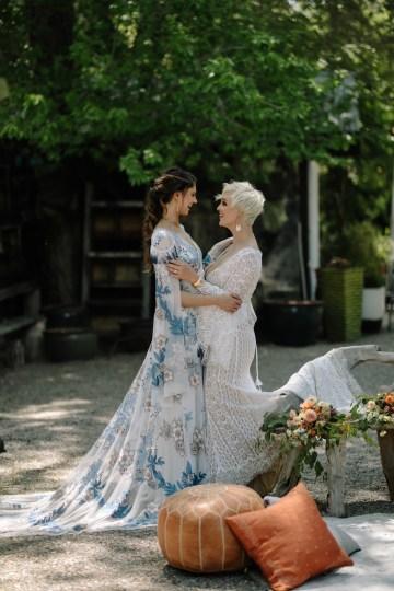 Dreamcatcher Bohemian Wedding Inspiration – Gissell Weddings – Corey Fox Photography – Rue de Seine Bridal 26