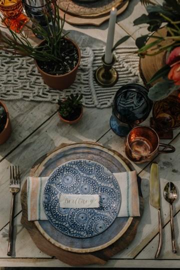 Dreamcatcher Bohemian Wedding Inspiration – Gissell Weddings – Corey Fox Photography – Rue de Seine Bridal 6