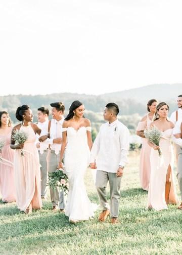 Elegant Virginia Countryside Wedding – Morgan Renee Photography 29