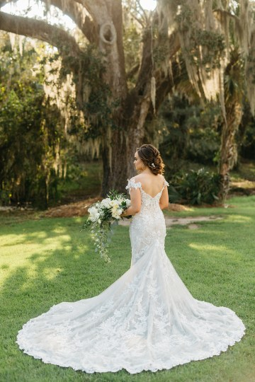 Magical Intimate Southern Wedding Under The Oak Trees – Pure Luxe Bride – Lydia Ruth Photography 26