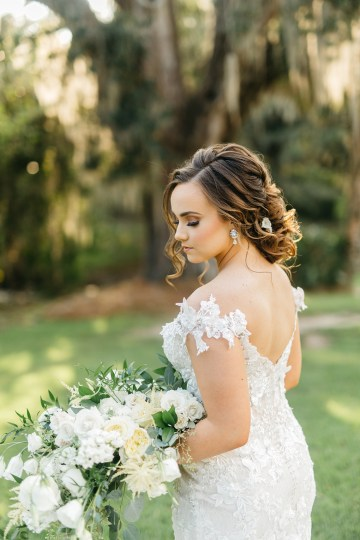 Magical Intimate Southern Wedding Under The Oak Trees – Pure Luxe Bride – Lydia Ruth Photography 27