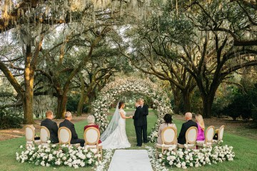 Magical Intimate Southern Wedding Under The Oak Trees – Pure Luxe Bride – Lydia Ruth Photography 3